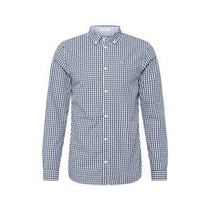 Tommy Jeans Košile  bílá / námořnická modř