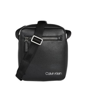 Calvin Klein Taška přes rameno 'QT POCKET MINI REPORTER'  černá