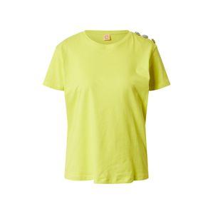 Custommade Tričko 'Molly Cristal'  svítivě žlutá