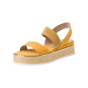 MARCO TOZZI Sandály  tmavě žlutá