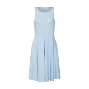 Mint&berry Letní šaty 'fit & flare dress w/ inverted pleat'  světlemodrá