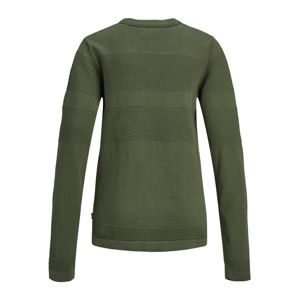 Jack & Jones Junior Svetr 'JORTRISTAN KNIT CREW NECK JUNIOR'  olivová