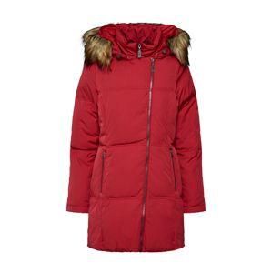 DREIMASTER Zimní bunda 'DREIMASTER DAMEN MANTEL'  červená
