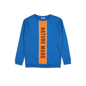 NAME IT Mikina  oranžová / královská modrá