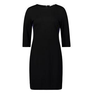 Betty & Co Šaty  fialová / černá