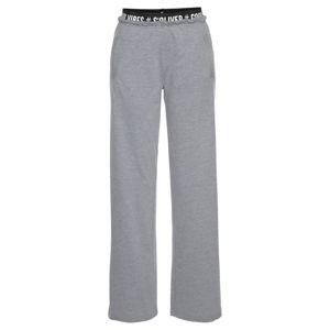 s.Oliver Pyžamové kalhoty  šedý melír