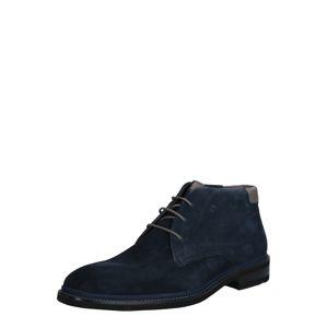 LLOYD Kotníkové boty 'Holmes'  režná / tmavě modrá