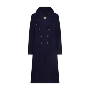 Banana Republic Přechodný kabát 'MELTON MILITARY MAXI COAT'  námořnická modř