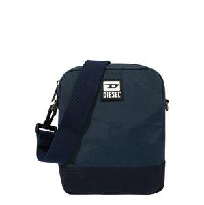 DIESEL Taška přes rameno 'BULERO ALTAIRO'  modrá / tmavě modrá / bílá