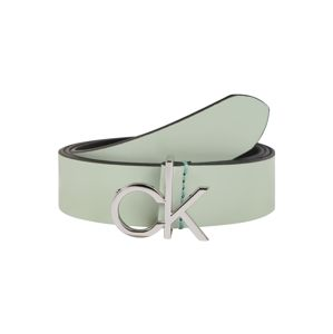Calvin Klein Opasek 'RE-LOCK LOW 3CM FIXED'  zelená