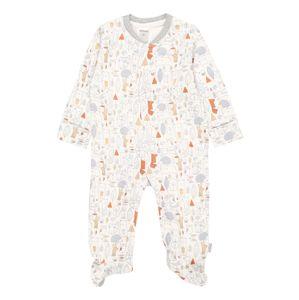 STACCATO Pyžamo  bílá / oranžová