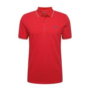 HUGO Tričko 'Dinoso203'  červená / azurová modrá