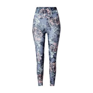 Marika Sportovní kalhoty  světle šedá / tmavě modrá / růžová