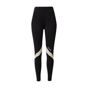 Hummel Sportovní kalhoty  černá / bílá