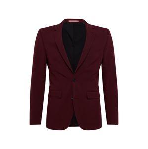 BURTON MENSWEAR LONDON Oblek  burgundská červeň