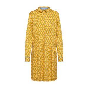 NÜMPH Košilové šaty 'NUAILANI'  oranžová / žlutá