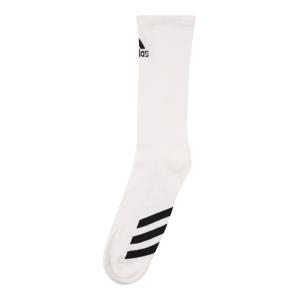 adidas Golf Sportovní ponožky  bílá / černá