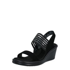 SKECHERS Sandály  černá