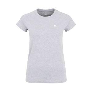 MOROTAI Funkční tričko 'PREMIUM'  světle šedá / bílá