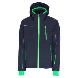 CMP Outdoorová bunda  limetková / bílá / černý melír