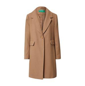 UNITED COLORS OF BENETTON Přechodný kabát  hnědá