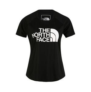 THE NORTH FACE Funkční tričko 'Graphic Play Hard'  bílá / černá
