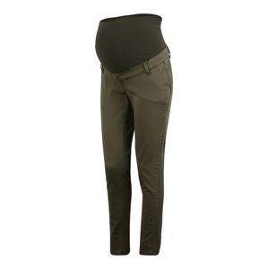 LOVE2WAIT Chino kalhoty 'Chino'  olivová