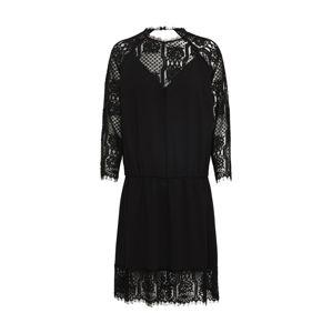 Pop Copenhagen Koktejlové šaty  černá