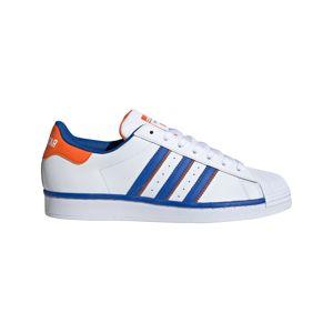 ADIDAS ORIGINALS Tenisky 'SUPERSTAR'  oranžová / bílá / modrá