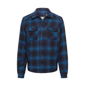 Schott NYC Přechodná bunda 'TIMBER'  černá / modrá