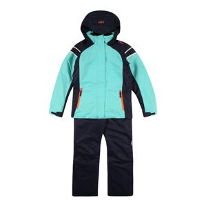 CMP Sportovní oblečení  aqua modrá / marine modrá / oranžová