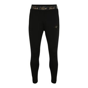 SikSilk Kalhoty  černá