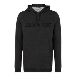 MAMMUT Sportovní mikina  černá / šedá