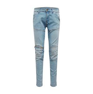 G-Star RAW Džíny '5620 3D Zip Knee Super Slim'  modrá džínovina