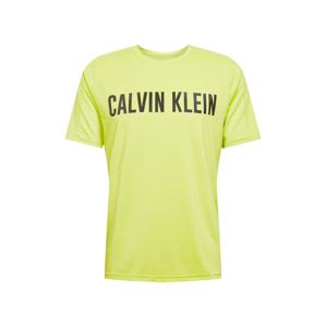 Calvin Klein Performance Funkční tričko  světle zelená / černá