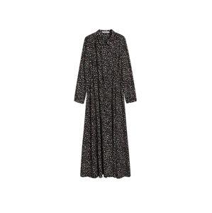 MANGO Šaty  černá / mix barev