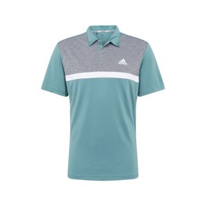 adidas Golf Funkční tričko  pastelově zelená / bílá / šedá