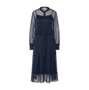 Love & Divine Košilové šaty 'Love246-2'  modrá / černá