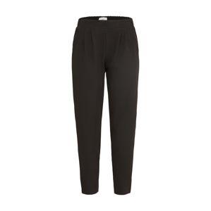 minimum Kalhoty se sklady v pase 'sofja pant'  černá
