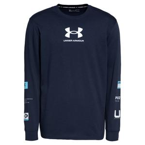 UNDER ARMOUR Funkční tričko  námořnická modř / bílá / modrá