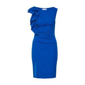 Carolina Cavour Pouzdrové šaty  modrá