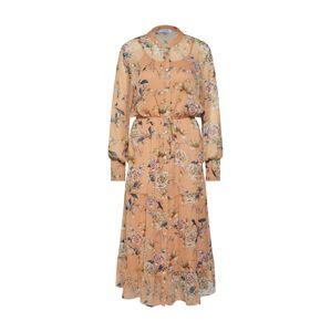 Love & Divine Letní šaty 'love246-6'  tělová / růžová / bílá