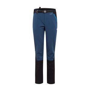 THE NORTH FACE Sportovní kalhoty 'DIABLO'  černá / modrá
