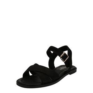 PAVEMENT Páskové sandály 'Roselyn'  černá