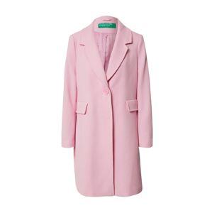 UNITED COLORS OF BENETTON Přechodný kabát  růžová