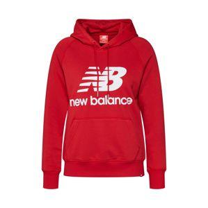 New Balance Mikina 'Essentials'  červená