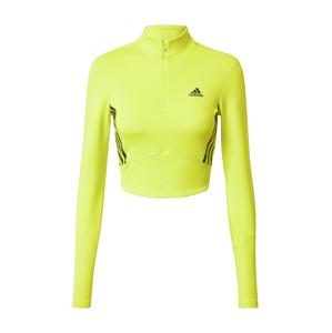 ADIDAS PERFORMANCE Funkční tričko  černá / žlutá