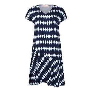 TRIANGLE Šaty  námořnická modř