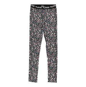 Hummel Sportovní kalhoty 'MIMMI'  bílá / růžová / černá / pastelová modrá