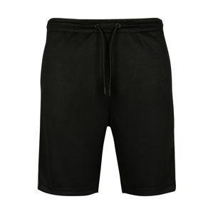 Urban Classics Kalhoty  šedá / černá